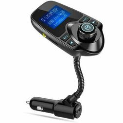 Nulaxy KM18 FM Transmitter Wireless Bluetooth Handsfree Radi
