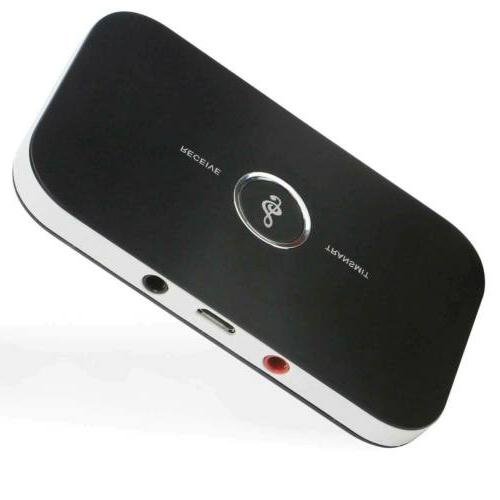 2 IN Bluetooth Receiver & RCA Audio Adapter