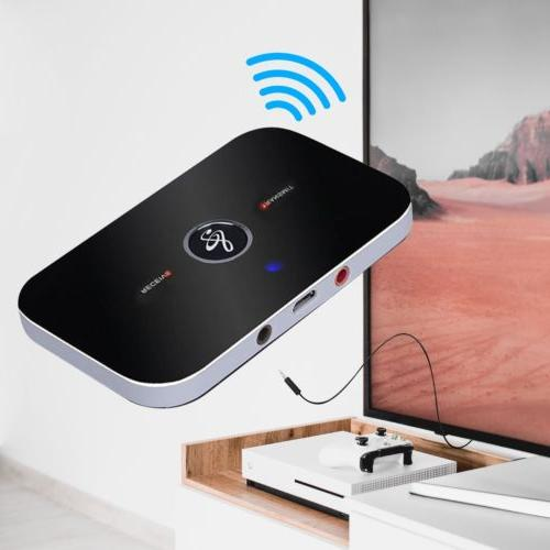 2in1 Bluetooth Transmitter Receiver Wireless TV Stereo Audio