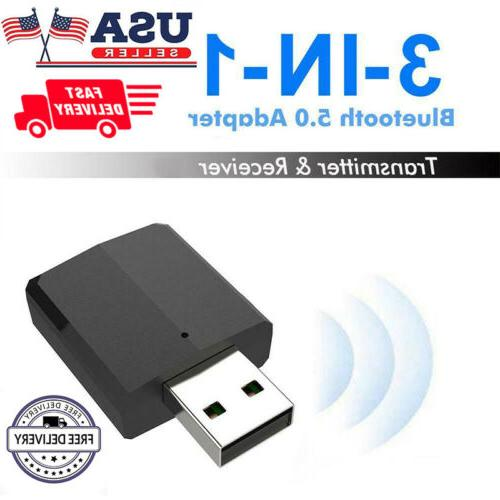 3 1 USB Bluetooth 5.0 Transmitter/Receiver Adapter Grace