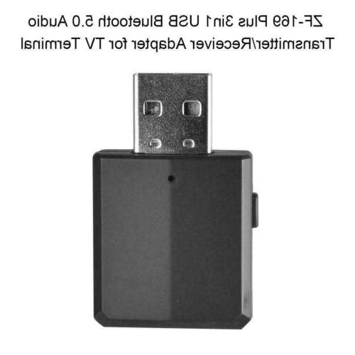 3 1 Bluetooth 5.0 Adapter TV/PC/Car