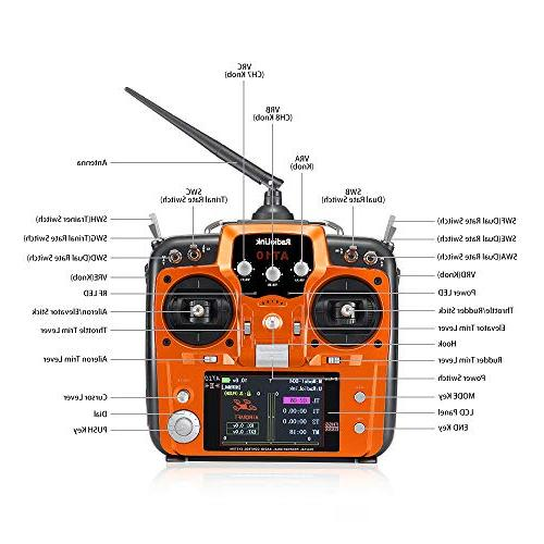 Radiolink Transmitter and 2.4GHz Spread Drone/Fixed