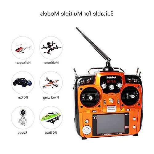 Radiolink Transmitter and 2.4GHz Spread Radio Remote for Drone/Fixed Wing/Multicopters/Helicopter