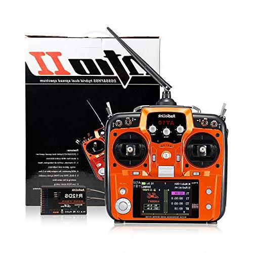 Radiolink 12CH Transmitter Receiver R12DS 2.4GHz Remote Controller for RC Drone/Fixed