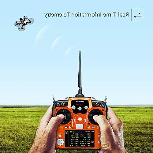 Transmitter and Receiver 2.4GHz DSSS&FHSS Remote Controller Drone/Fixed
