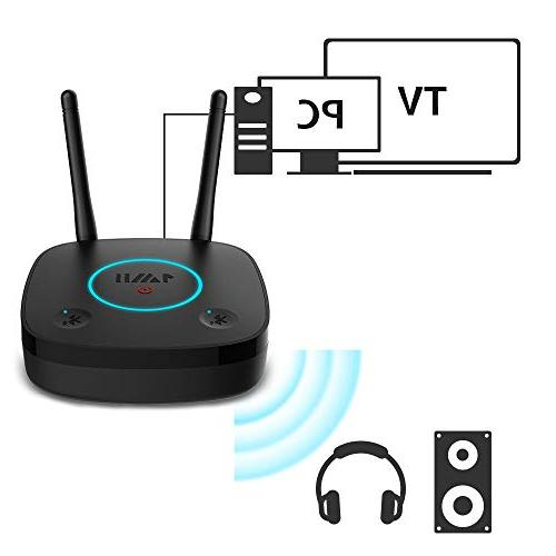 1Mii B03Lite Long Bluetooth Bluetooth Audio Adapter, for TV Optical 3.5mm RCA, Link Low Latency