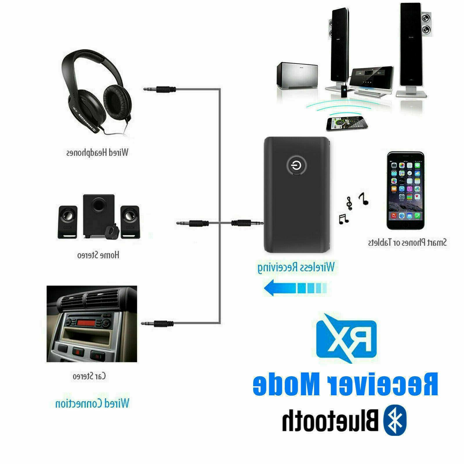 Bluetooth 2 IN 1 Wireless Audio Adapter