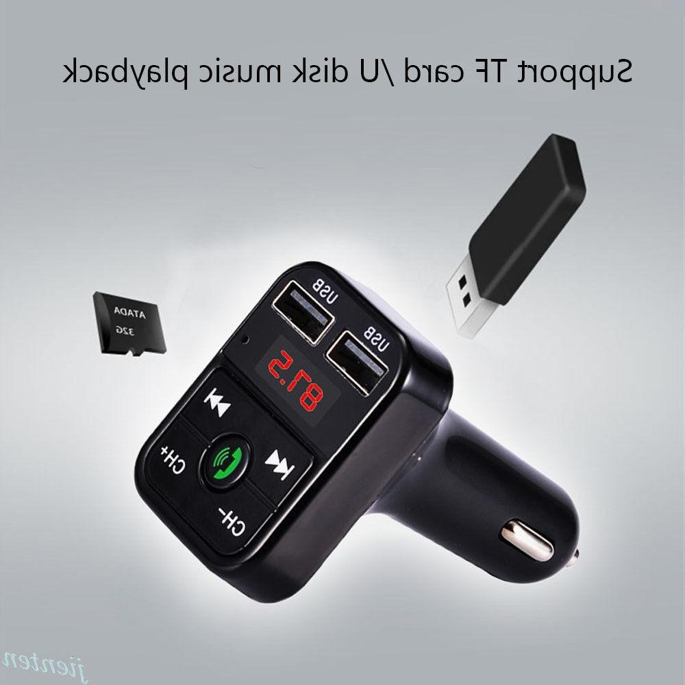 Bluetooth Car Player FM Charger Wireless Acc
