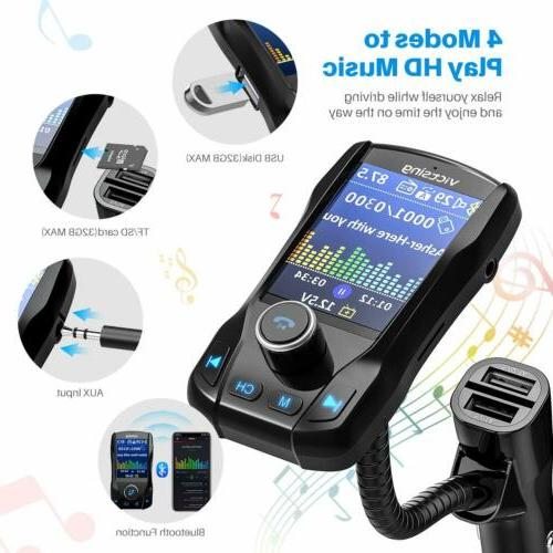 Bluetooth Car MP3 Radio Adapter Charger