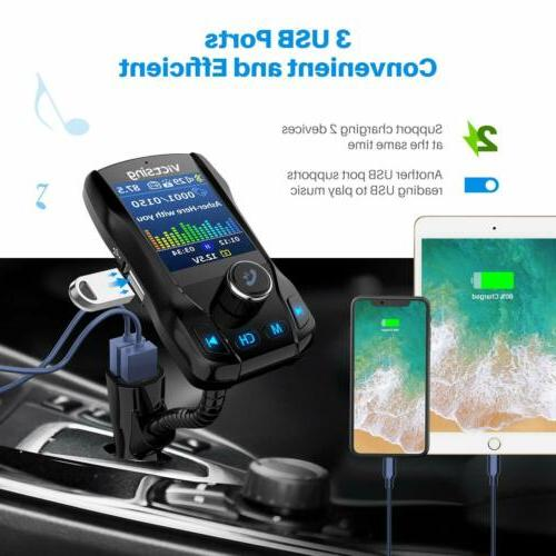 Bluetooth Car FM MP3 Radio Charger