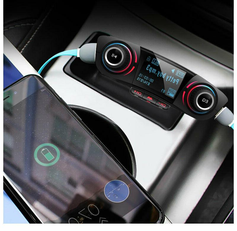 Bluetooth Car FM MP3 Player Radio Adapter Charger