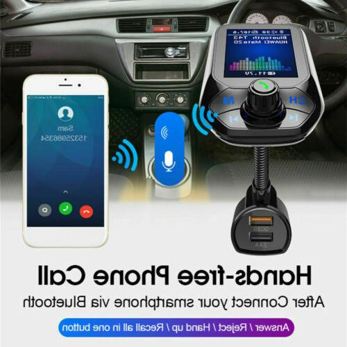 Bluetooth MP3 Player Radio Adapter Charger