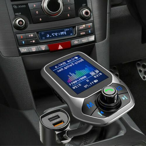 Bluetooth MP3 Player Radio Adapter Kit Charger