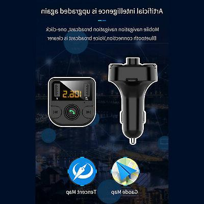 Bluetooth MP3 free Radio Adapter Charger