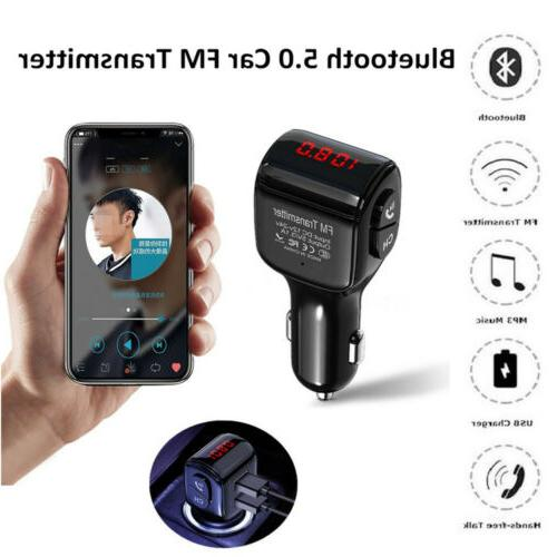 Bluetooth Car MP3 Radio Adapter Kit Charger