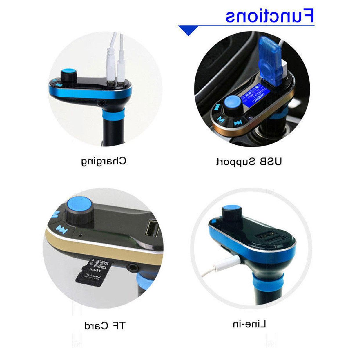 Bluetooth Car MP3 Player Adapter Outlets