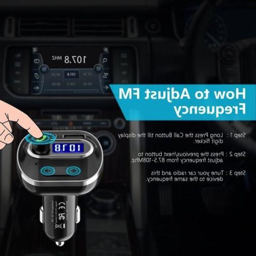 FM MP3 Player Adapter New