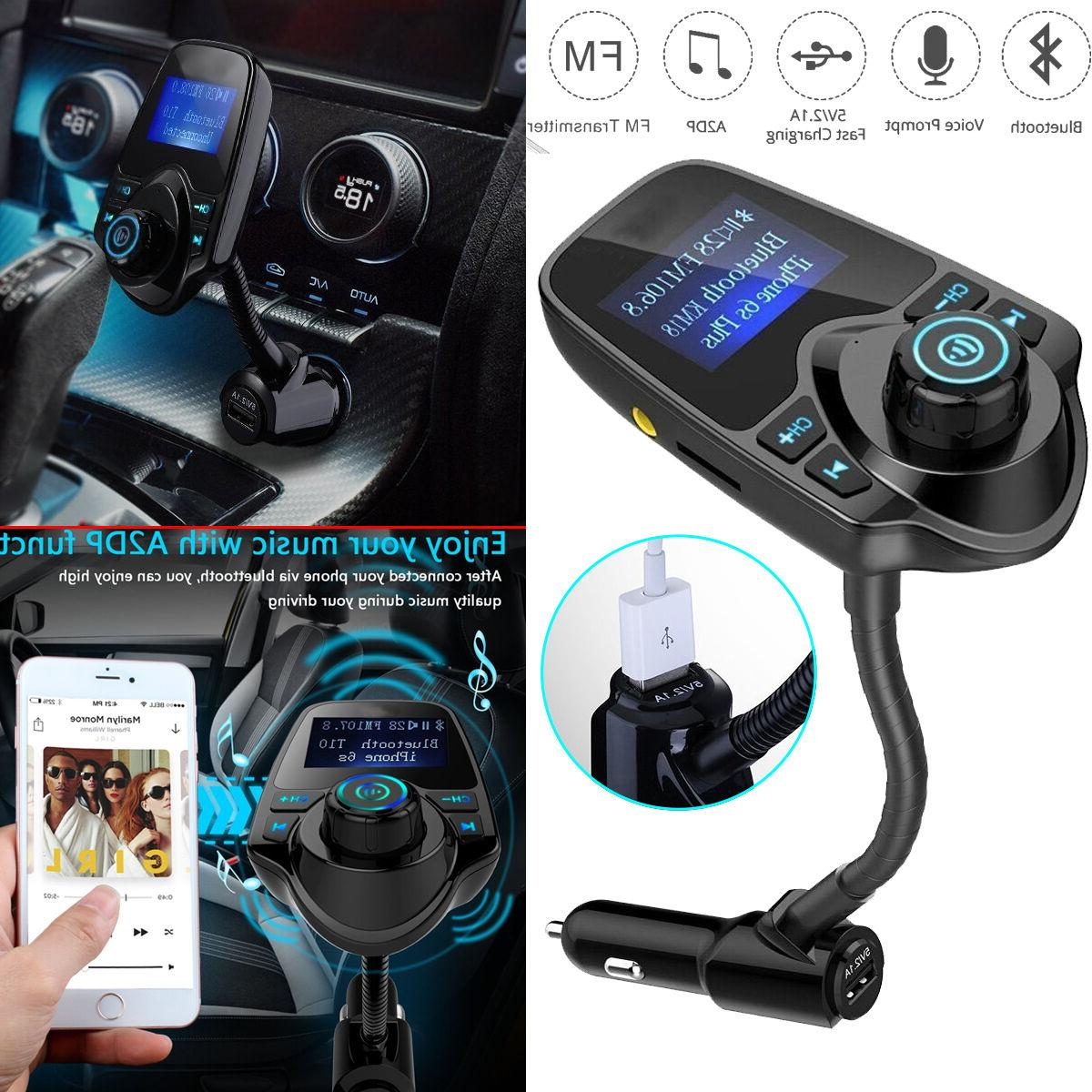 Bluetooth Car Kit MP3 Player Transmitter Radio Adapter