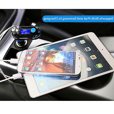 Bluetooth Car FM Transmitter MP3 Charger