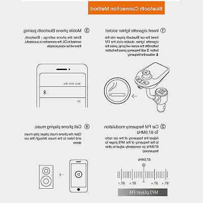 Bluetooth Transmitter MP3 Charger