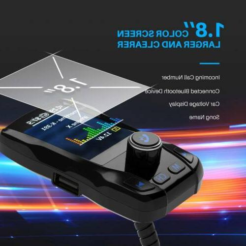 """VicTsing Bluetooth for 1.8"""" Screen Hand-Free Charger"""