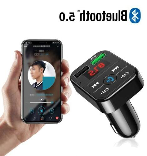 Bluetooth In-Car Adapter Charger iPhone