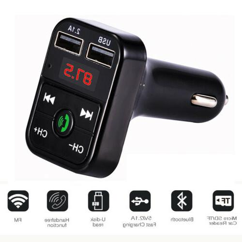 Bluetooth Transmitter In-Car Charger