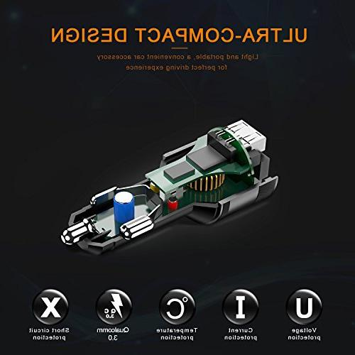 Bluetooth FM Transmitter Car, FM Radio Adapter Player Car Hands Calling 2 Ports Support