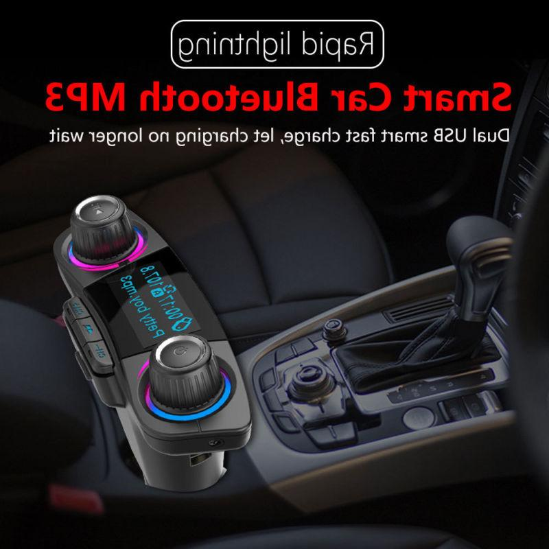 Wireless Bluetooth Car MP3 Player LCD USB