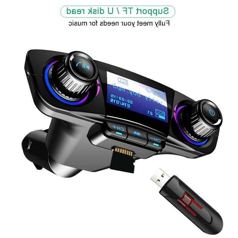 Bluetooth FM MP3 Player Hands Radio Charger