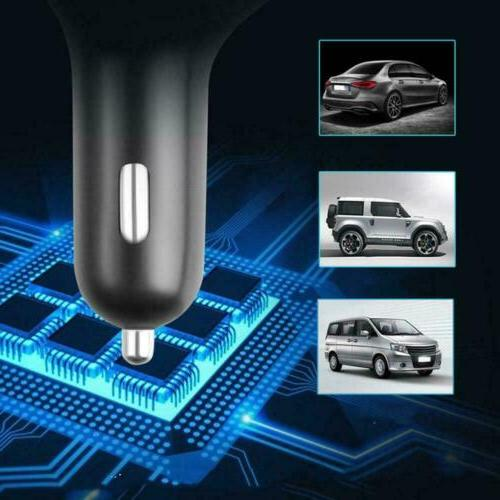 Bluetooth Wireless FM MP3 Car 2 Charger