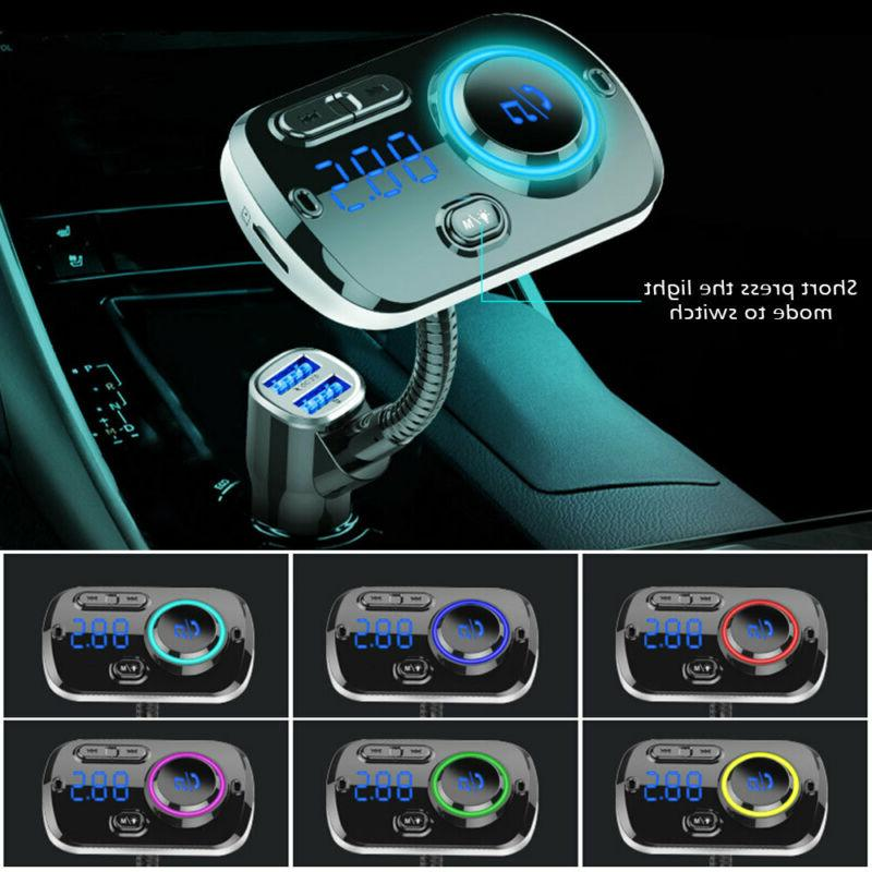 Bluetooth FM MP3 Adapter Car USB