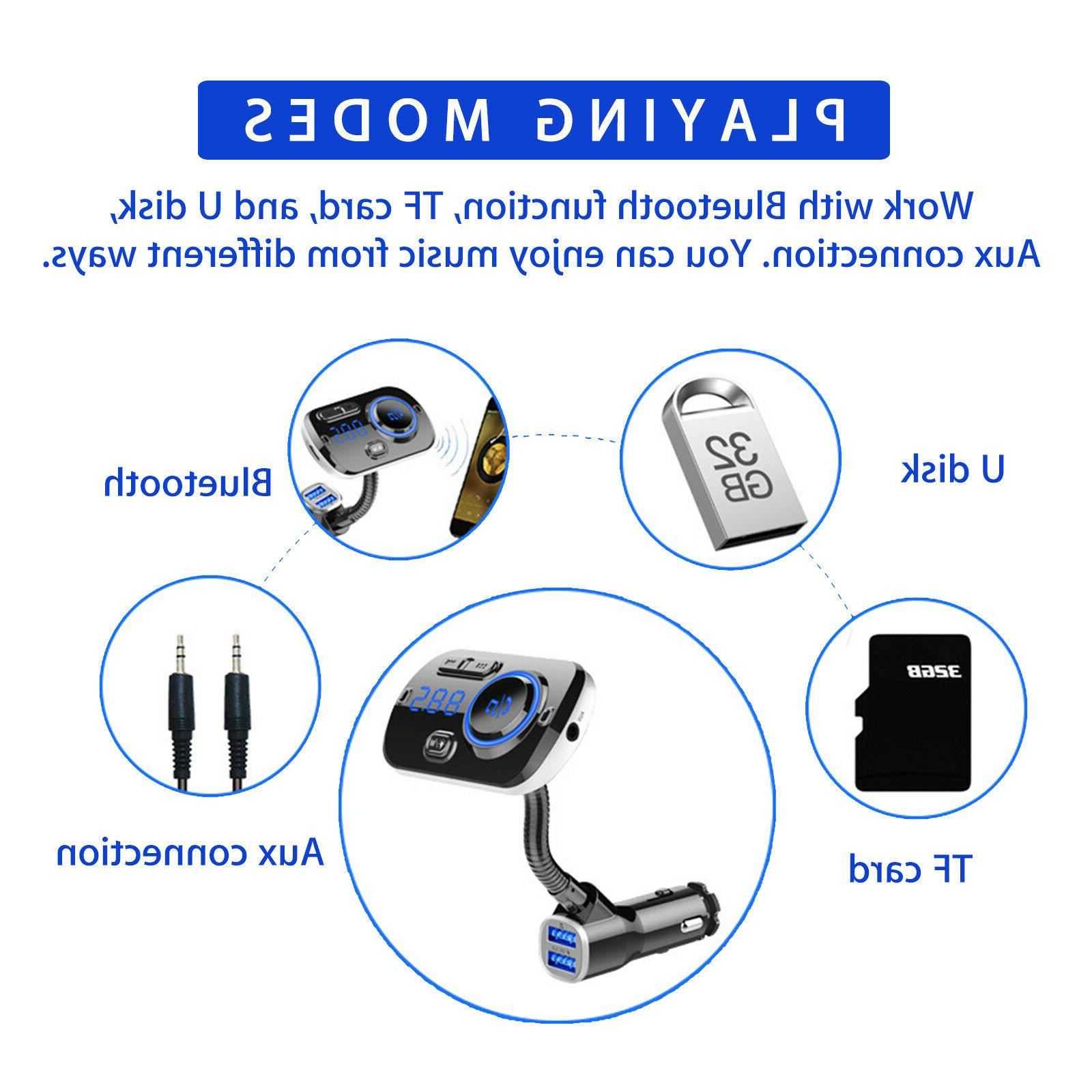 Bluetooth In FM MP3 Adapter