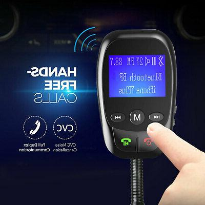 Car FM Transmitter MP3 Player Radio Adapter Charger
