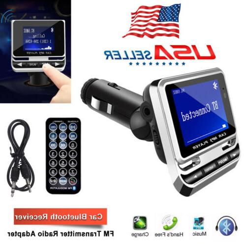 Bluetooth Wireless LCD MP3 + SD Charger