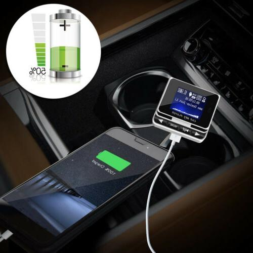 Bluetooth MP3 Player FM + Remote Charger