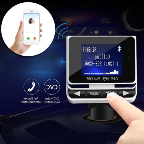 Bluetooth Car MP3 + SD USB Charger