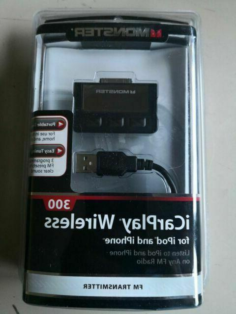 cable icarplay wireless 300 fm transmitter