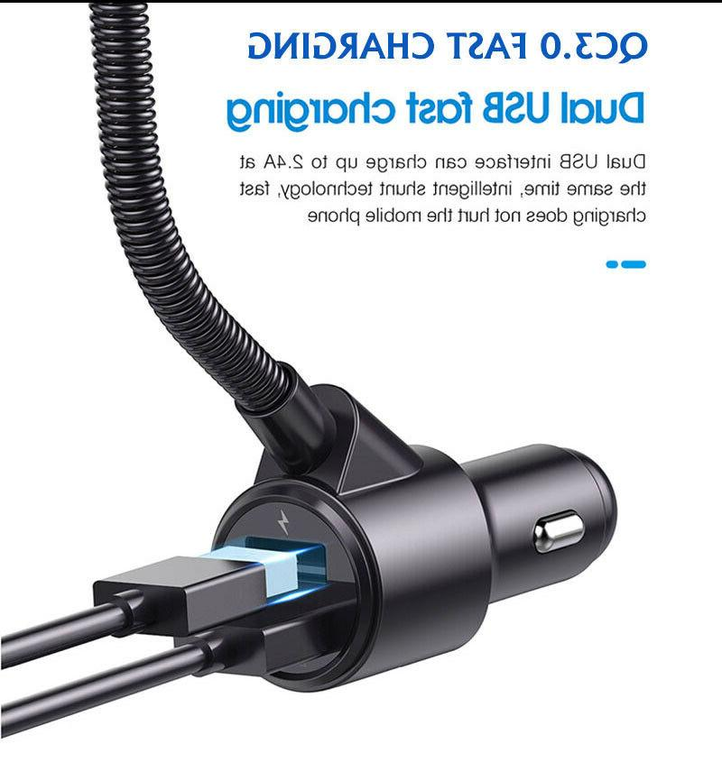 Car Transmitter Adapter USB Charger