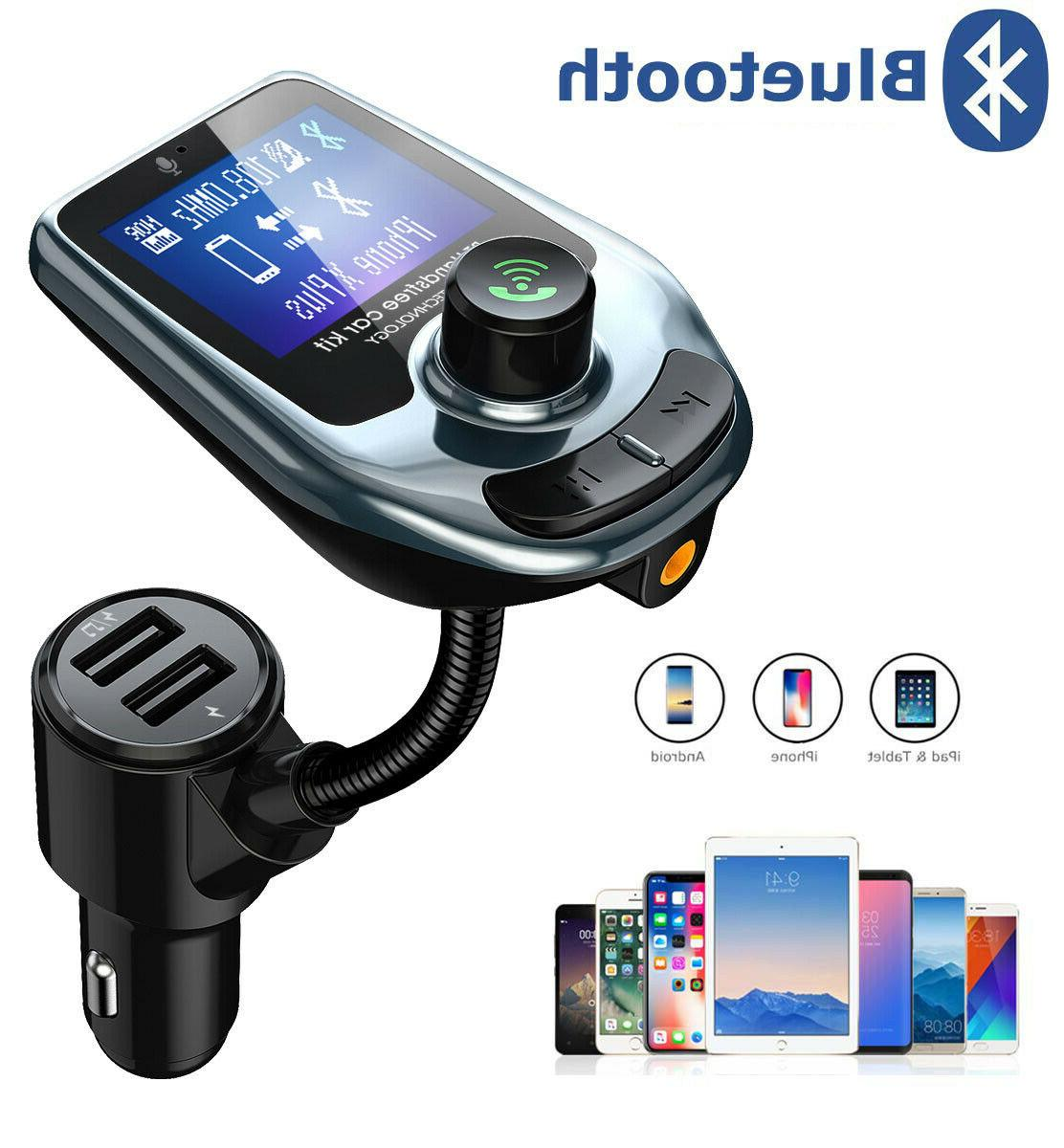 Car Wireless Transmitter Adapter USB Charger