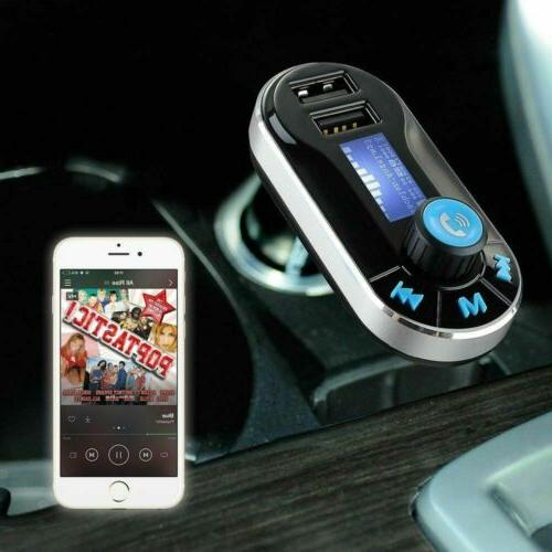 Car FM MP3 Player Radio Adapter Kit Charger Remote