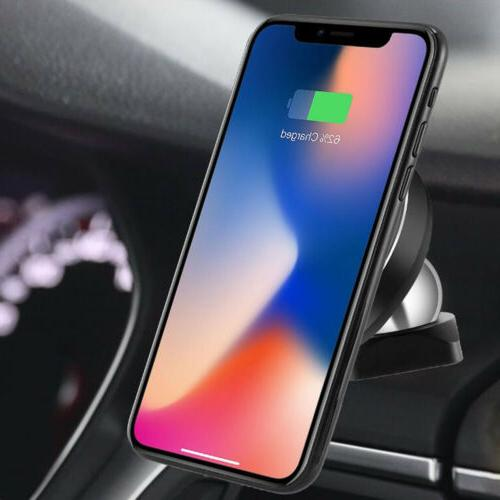 car qi wireless charger transmitter holder pad
