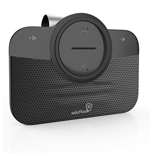2B Bluetooth Automatic Cellphone Connection Hands-Free kit Driving -Kit Compatible with and