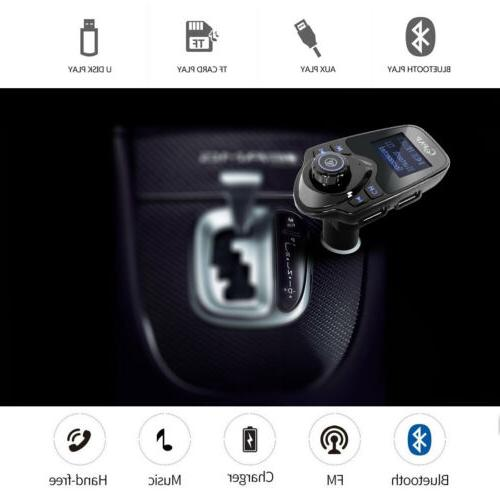 Car Transmitter Adapter Player USB Charger
