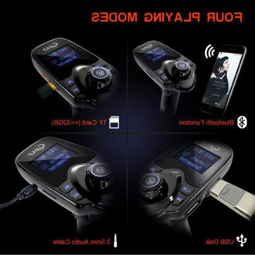 Car Transmitter Radio Adapter MP3 Player Charger