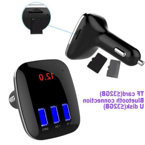 Car Handsfree MP3 USB Charger 8 X 7
