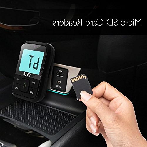 Pyle 2.1 Bluetooth and Car for Wireless Hands Calling, AUX with Digital