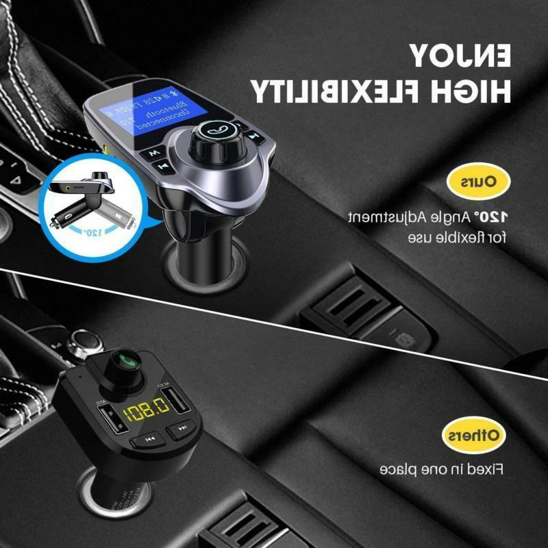 Victsing Fm Transmitter Adapter Car Kit