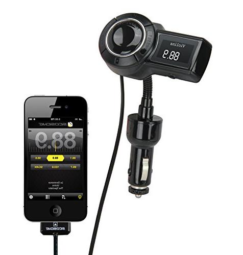 SCOSCHE Universal FM Flexible for Phones, iPods, iPhones and More Devices - Black