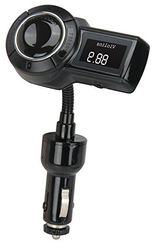 SCOSCHE 12V FM Transmitter Flexible for Phones, iPhones More Devices